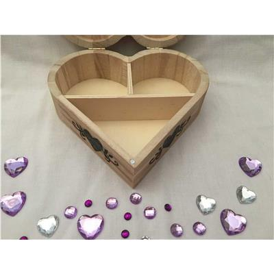 Personalised Heart Shaped Jewellery Box - Tree of Love